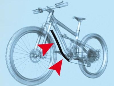 Protezione Telaio Bici