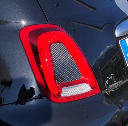 Abarth Fiat 500 kit Cover Montanti + Fanali